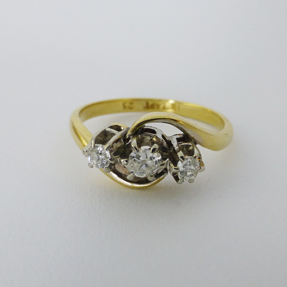 Stone And Diamond Rings