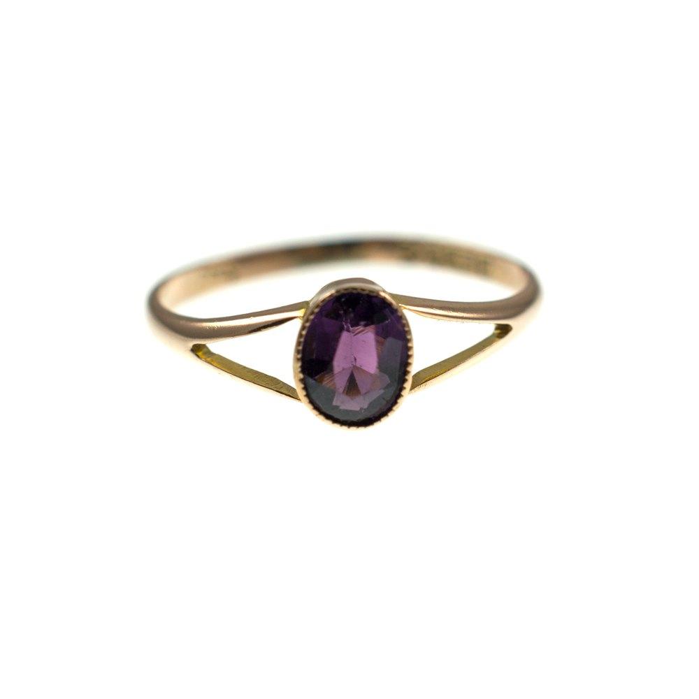Amethyst Wedding Rings 64 Trend Vintage Amethyst Ring Ct