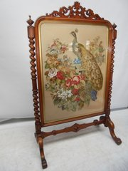 Large 6 High  Victorian Screen