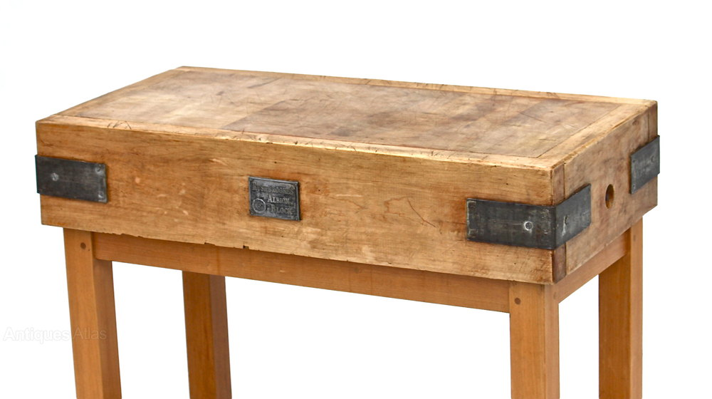 Butchers Block Dining Table Images Solid Wood