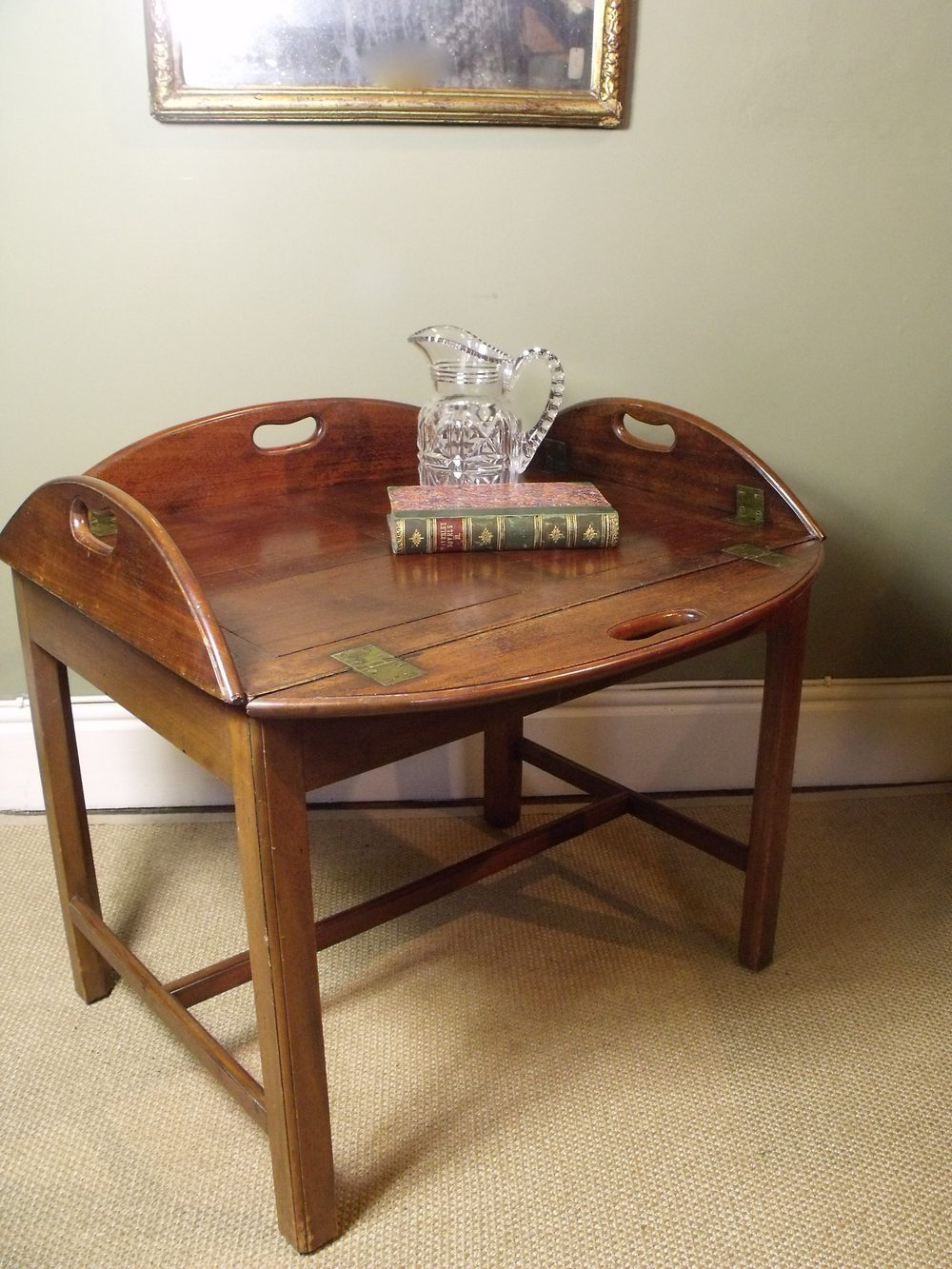 18th Century Butlers Tray On Stand Antiques Atlas