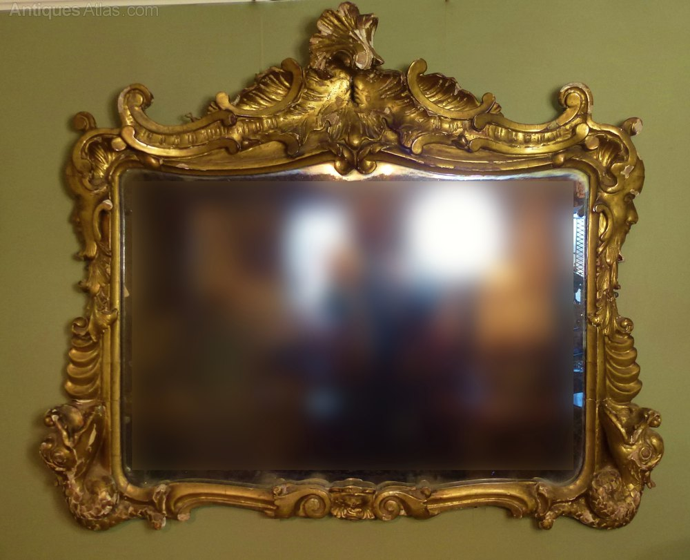 28 gilt wall mirror large vintage gilt framed mirror