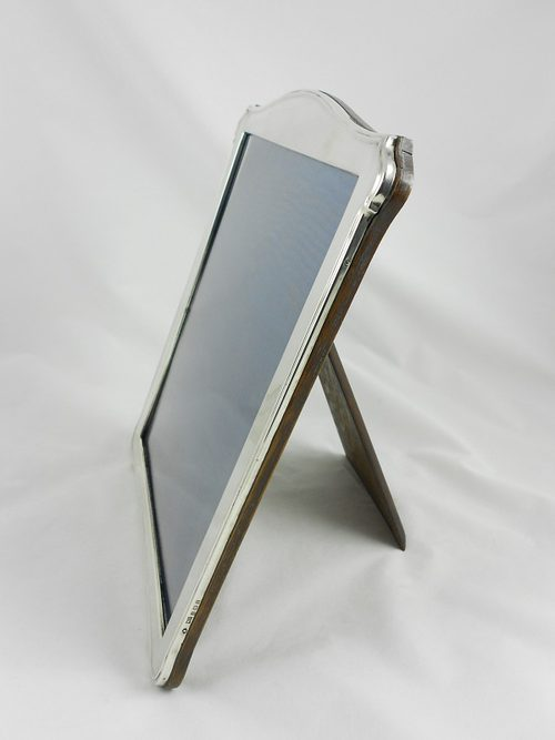 Antiques Atlas Large Silver Picture Frame