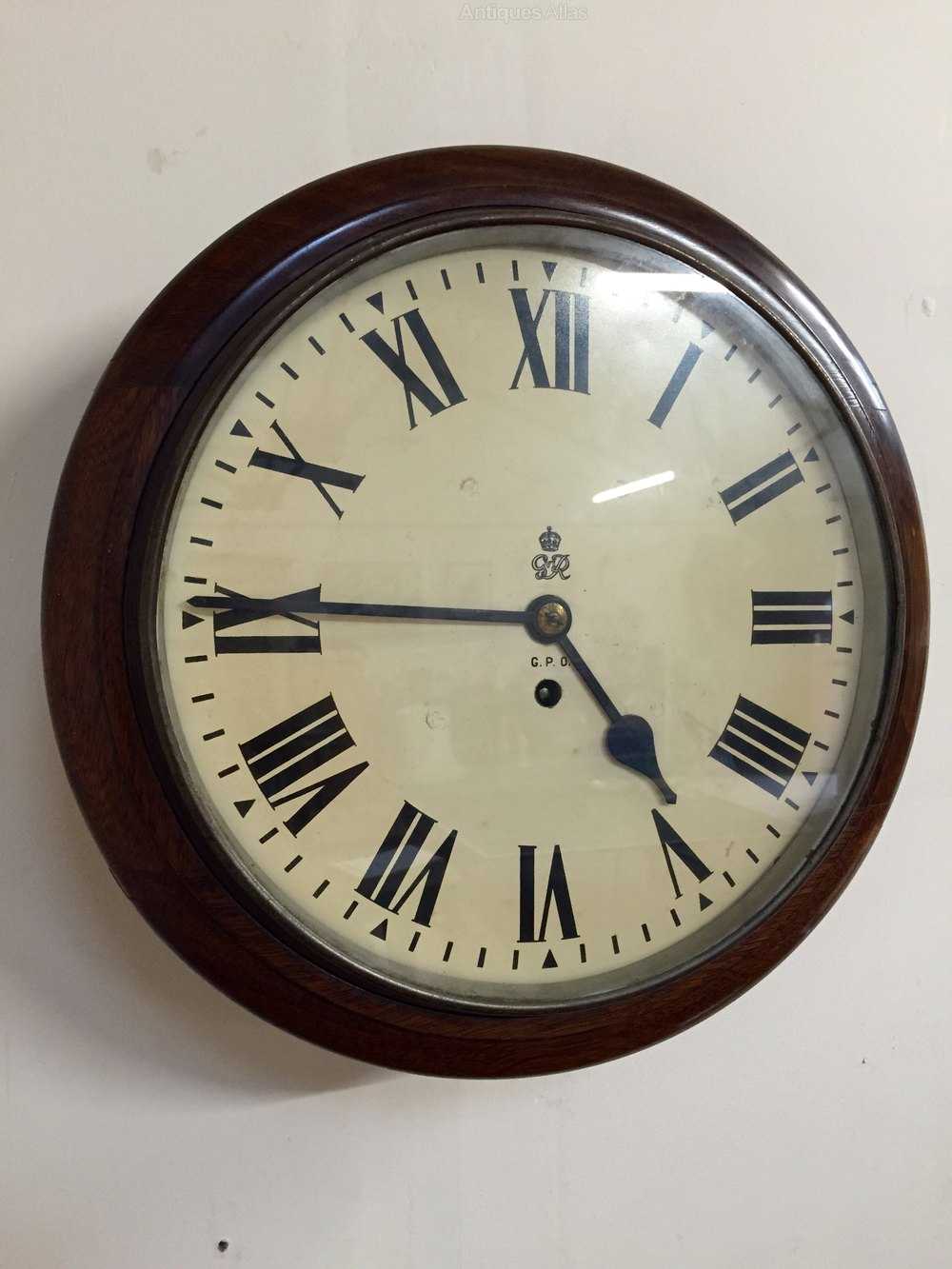 Antiques Atlas 12 Inch Gpo Fusee Wall Clock