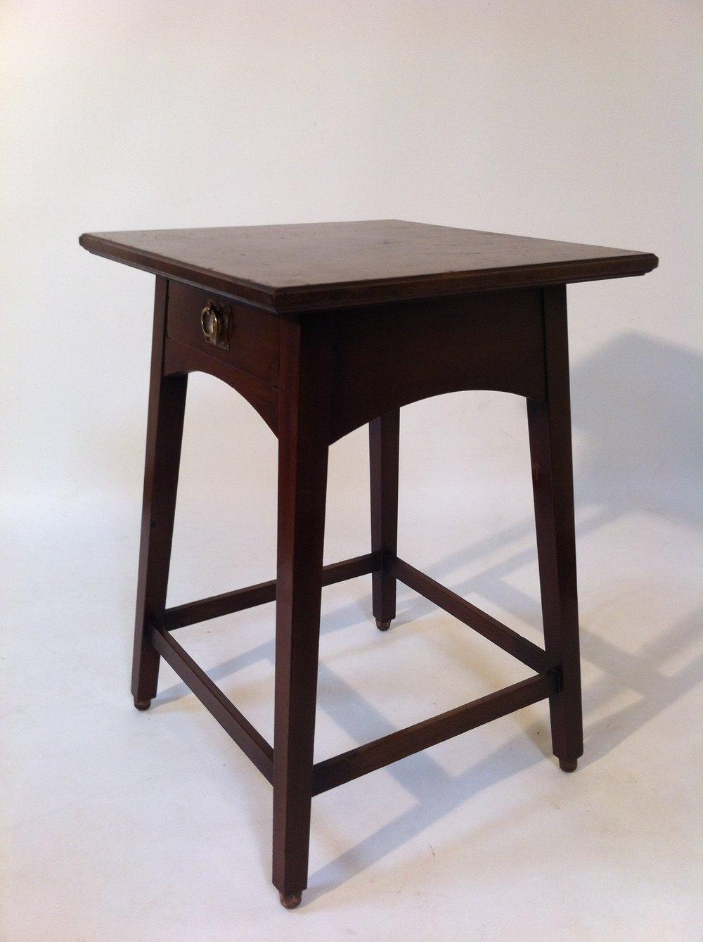 arts and crafts table antiques atlas. Black Bedroom Furniture Sets. Home Design Ideas