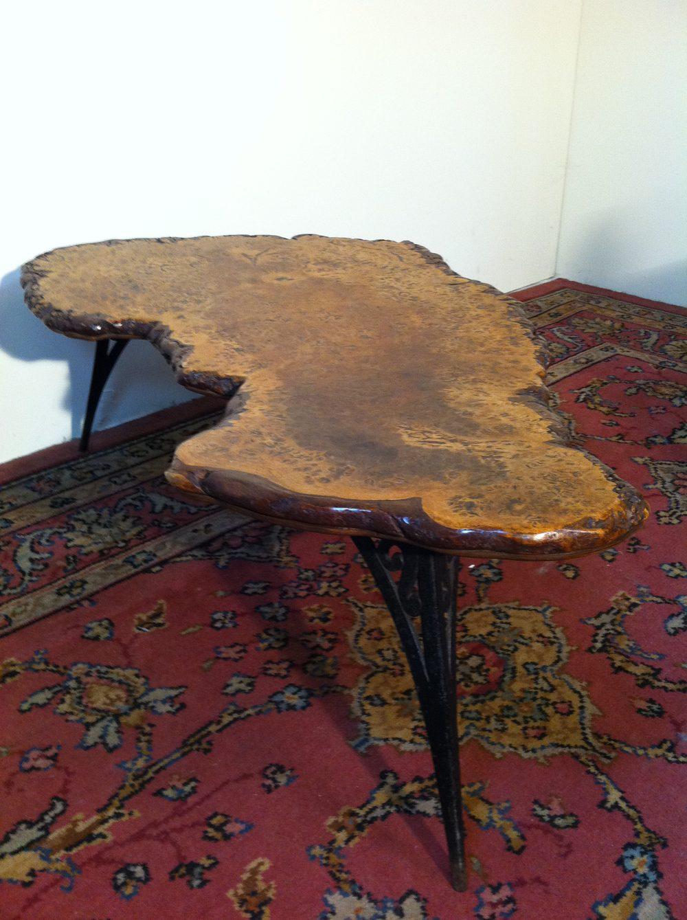 Antiques Atlas Burr Elm Coffee Table