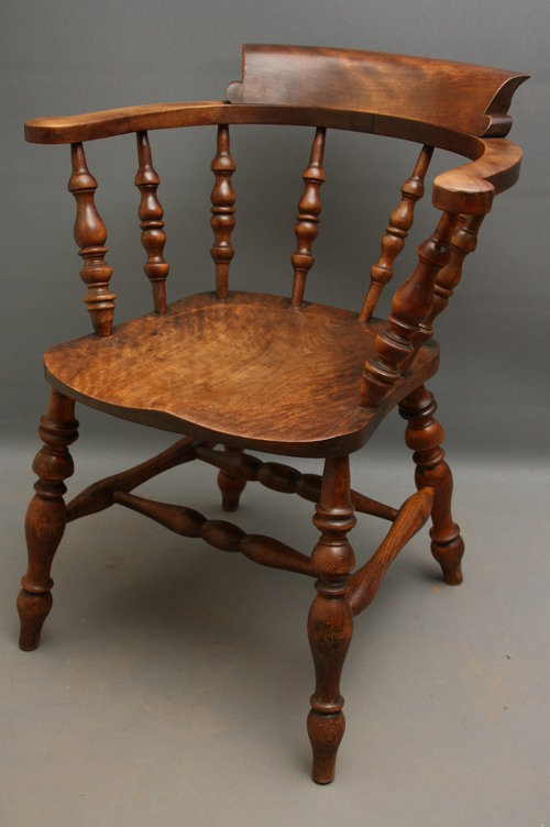 Smokers Bow Chair Antiques Atlas