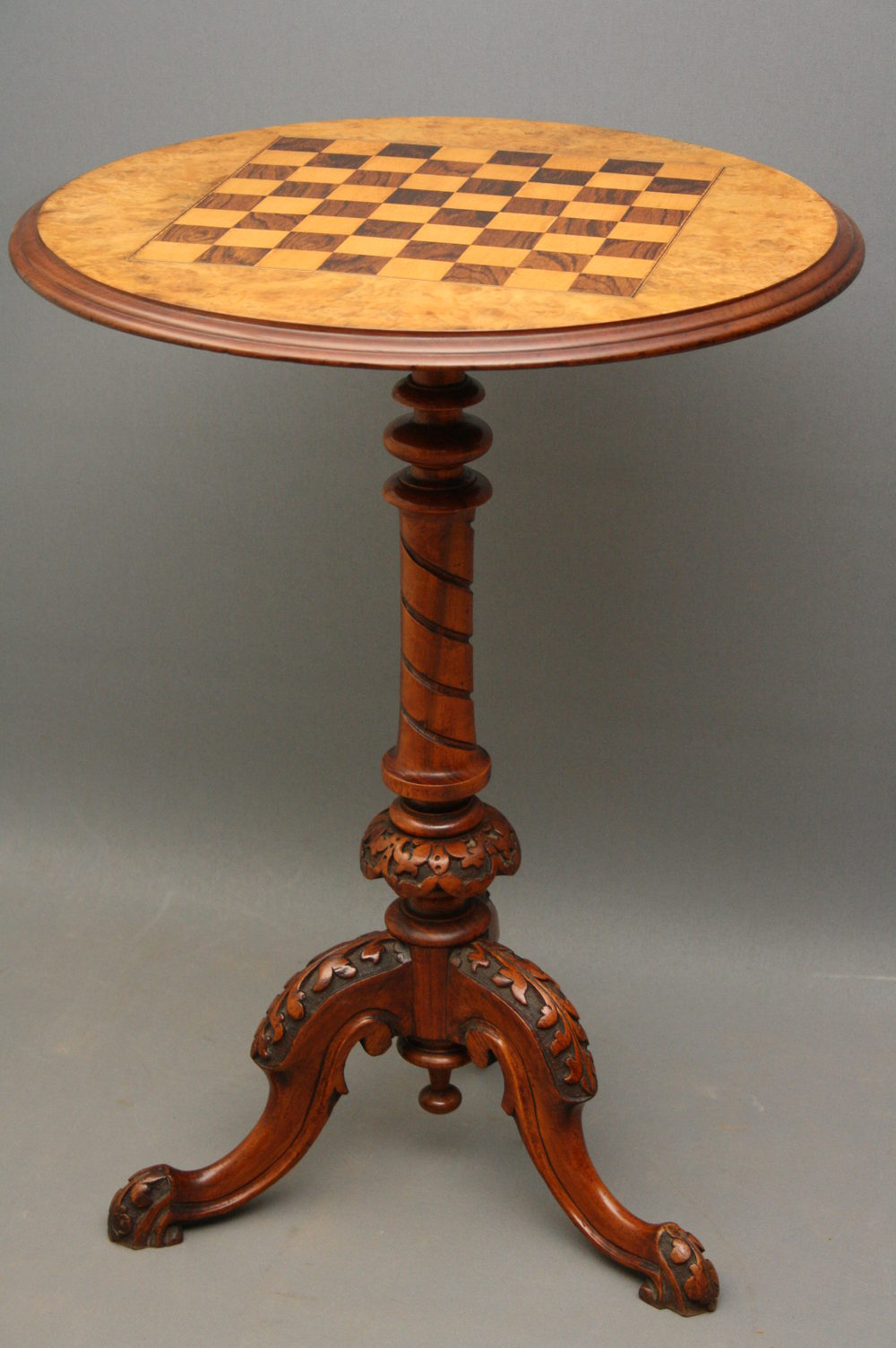 Victorian Game Table In Walnut Antiques Atlas
