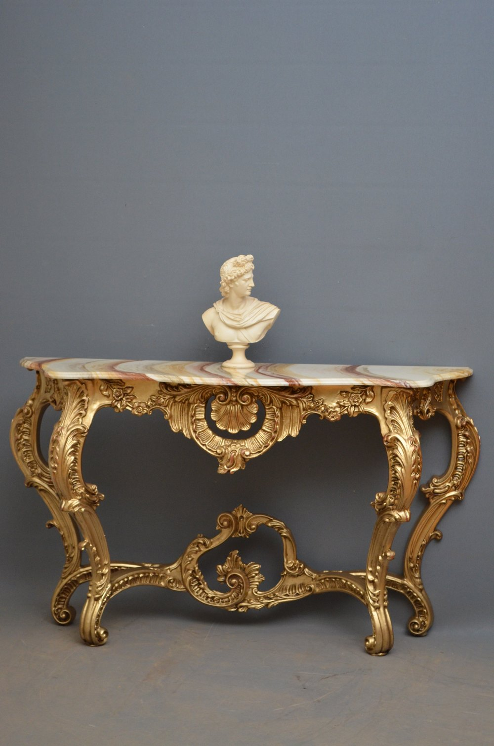 A very decorative console table antiques atlas - Ornate hall table ...
