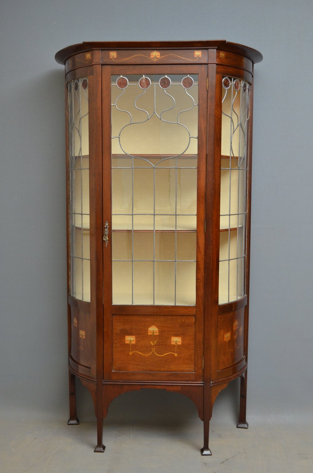 Art nouveau display cabinet antiques atlas for Antique display cabinet