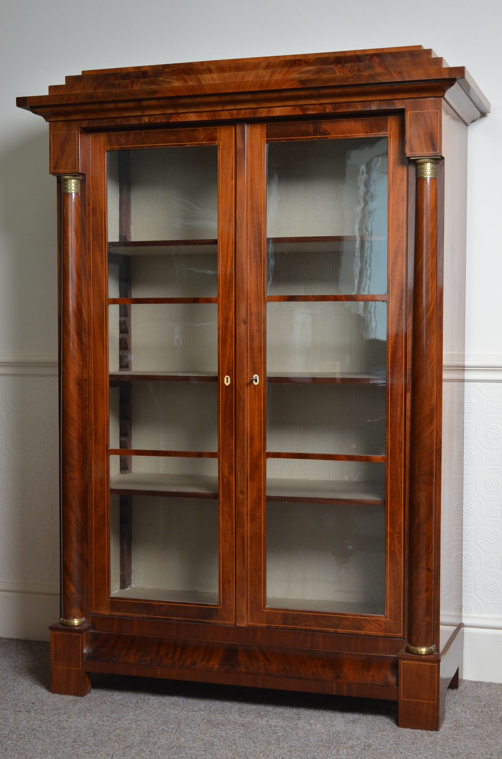 Biedermeier display cabinet antiques atlas for Antique display cabinet