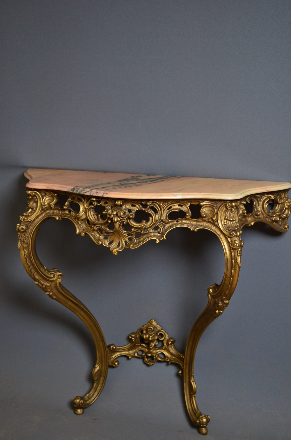 turn of the century console table hall table antiques atlas. Black Bedroom Furniture Sets. Home Design Ideas