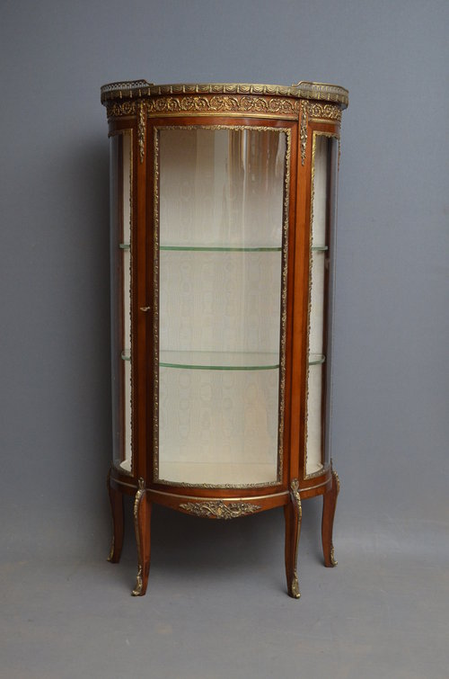 Continental Display Cabinet - Vitrine Antique ... - Continental Display Cabinet - Vitrine - Antiques Atlas