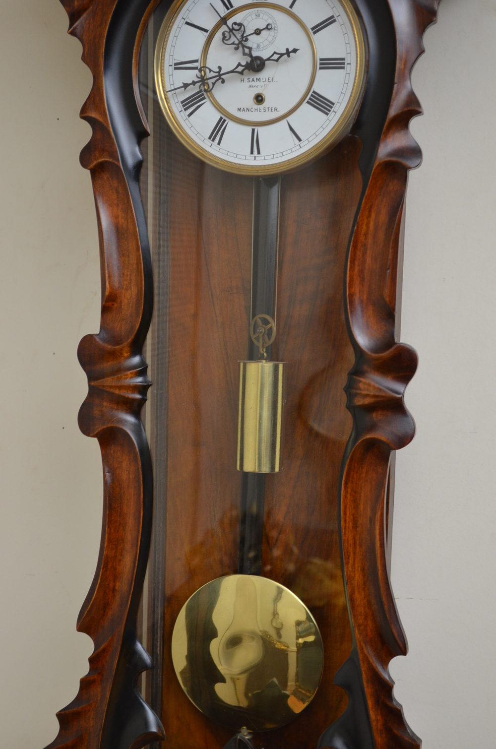 Antiques Atlas Early Victorian Vienna Clock