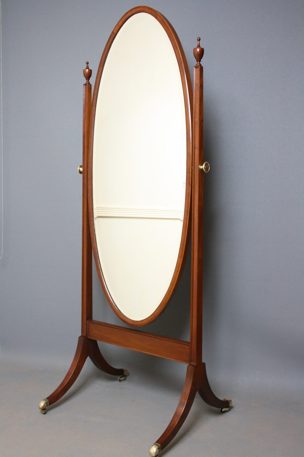 Abbey Gold Leaner Mirror | Floorstanding Mirror