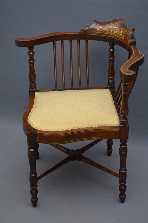 Edwardian Corner Chair Antiques Atlas - Corner Chair Antique - Best 2000+ Antique Decor Ideas