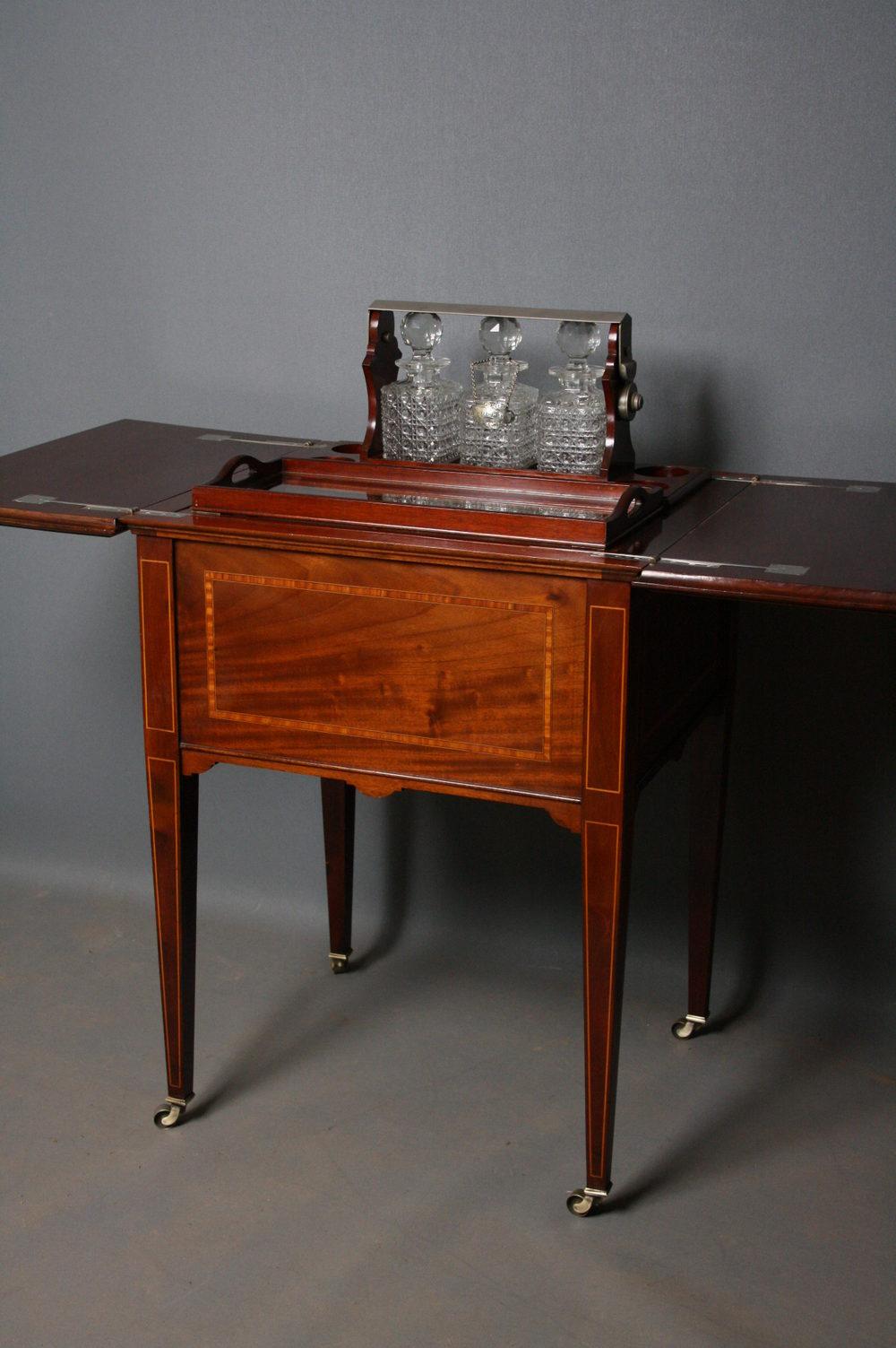 Edwardian Drinks Table Antiques Atlas