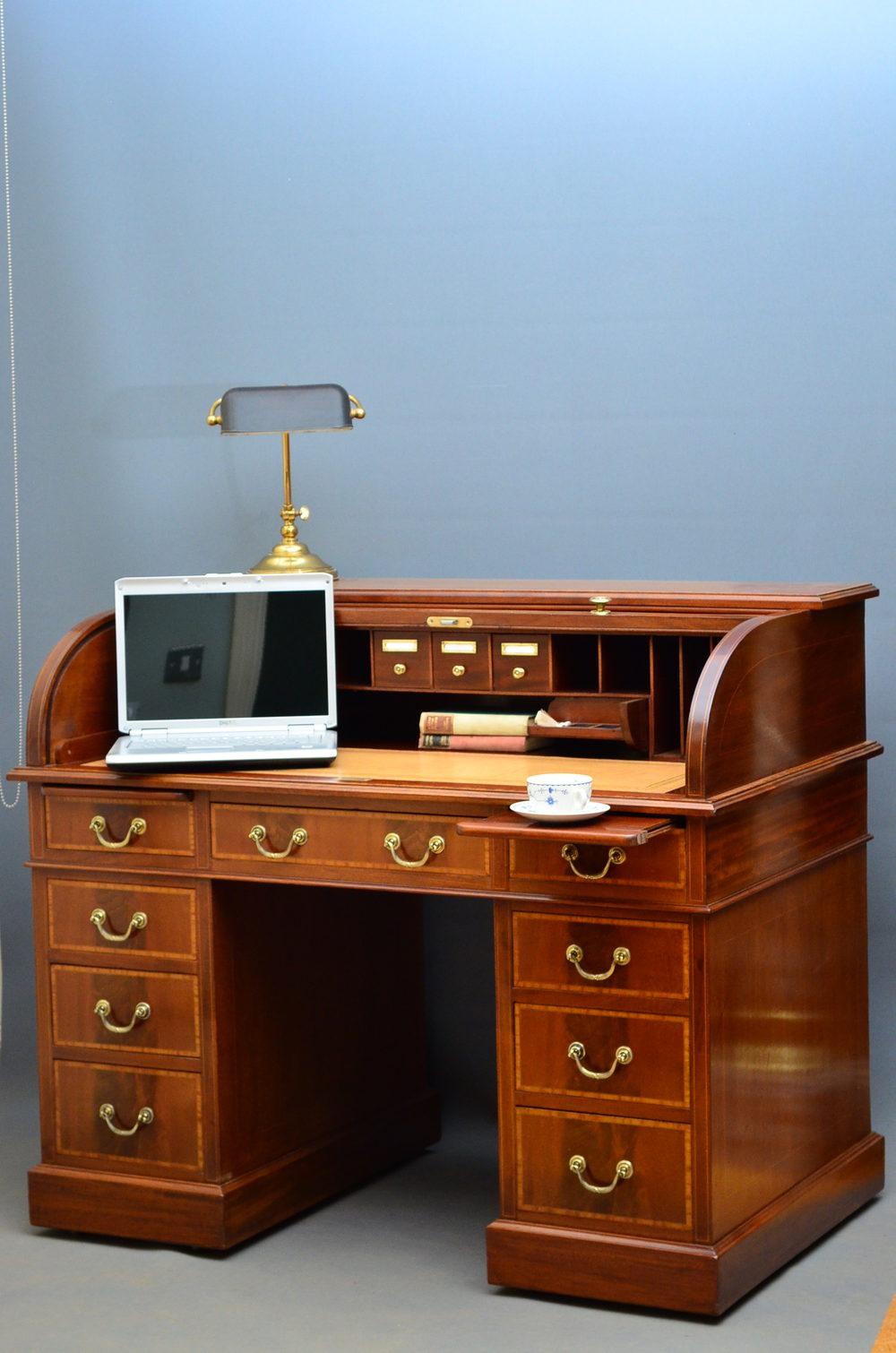 Edwardian Roll Top Desk By Maple Amp Co Antiques Atlas