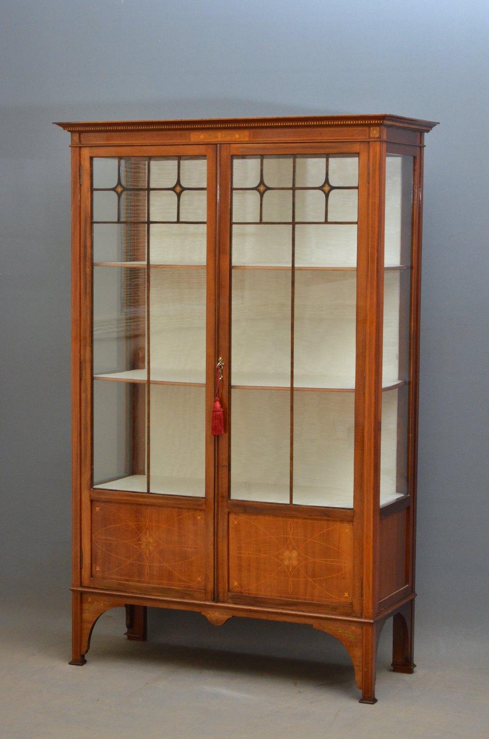 Elegant Art Nouveau Display Cabinet Antiques Atlas