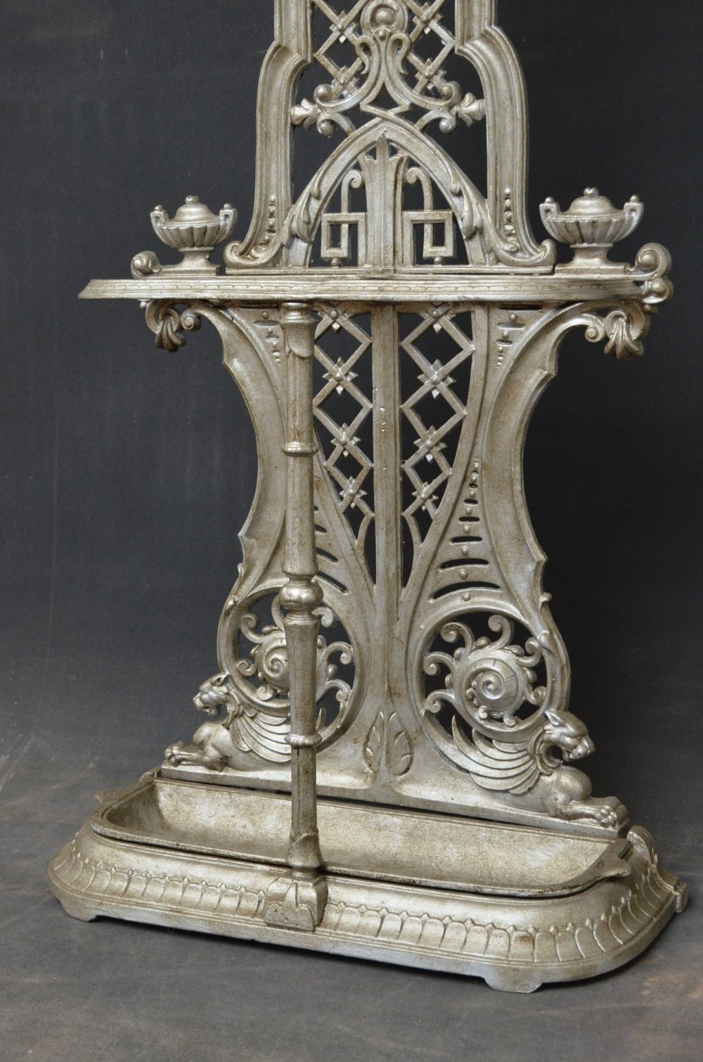 Excellent Victorian Cast Iron Hall Stand Antiques Atlas