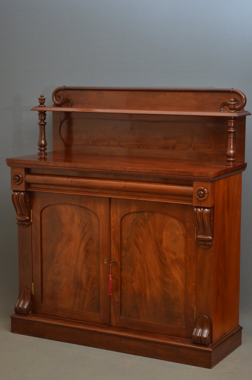 Fine William Iv Chiffonier In Mahogany Antiques Atlas