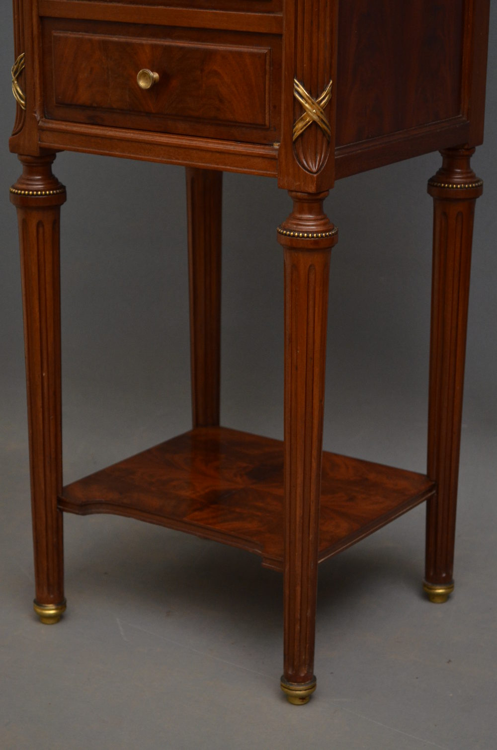 French Bedside Cabinet In Mahogany Antiques Atlas