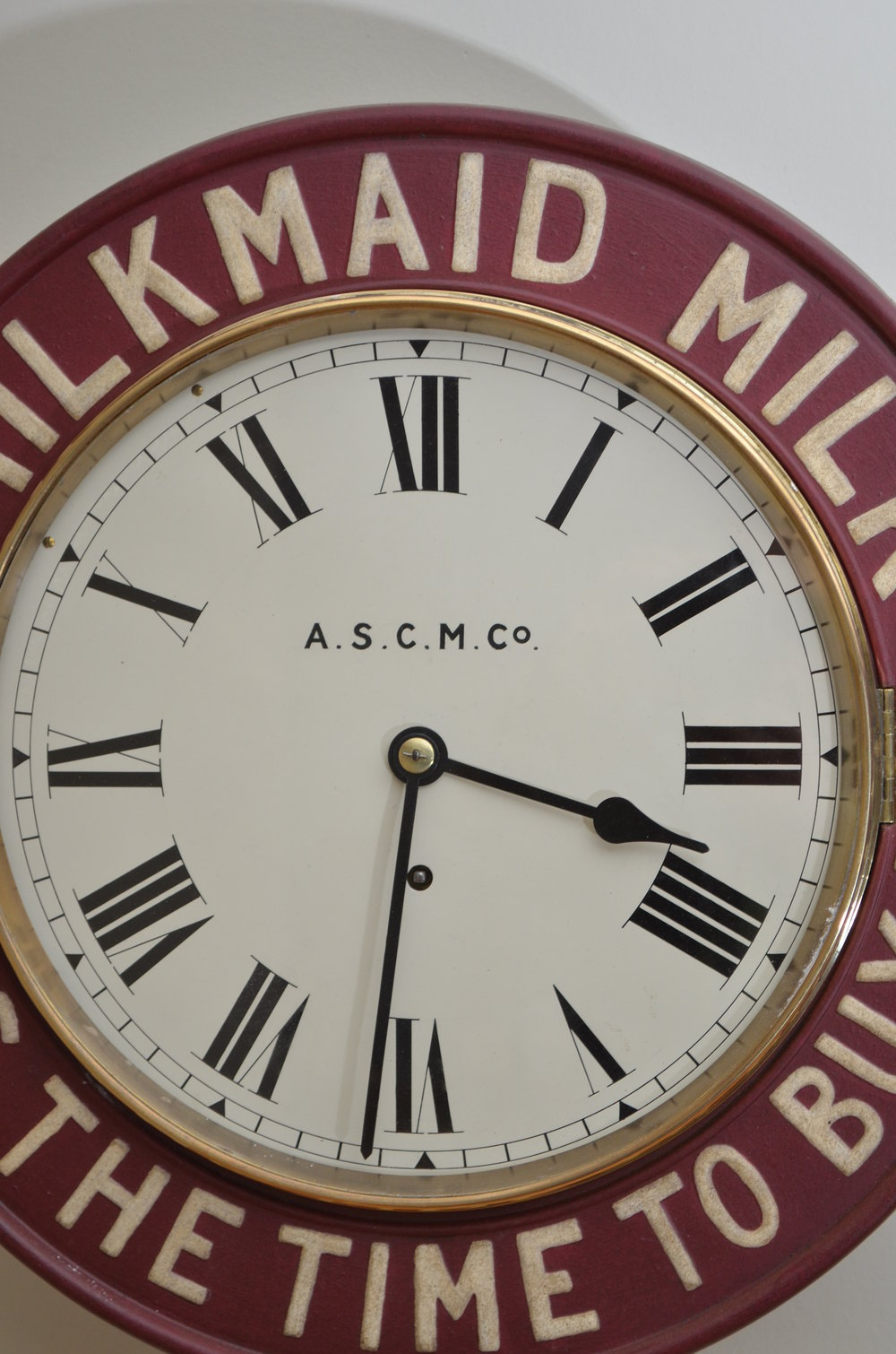 Antiques Atlas Milkmaid Advertising Wall Clock
