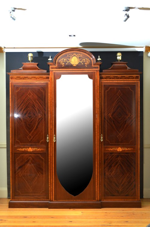 Magnificent Waring And Gillow Inlaid Wardrobe Antiques Atlas