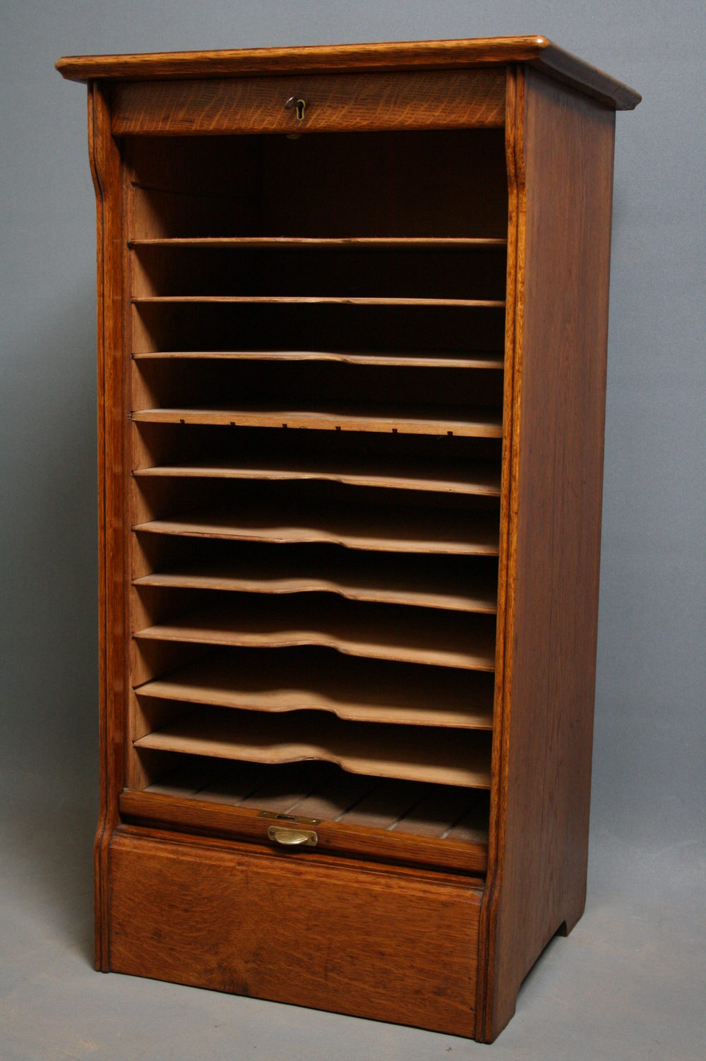 Oak Filing Cabinet Antiques Atlas