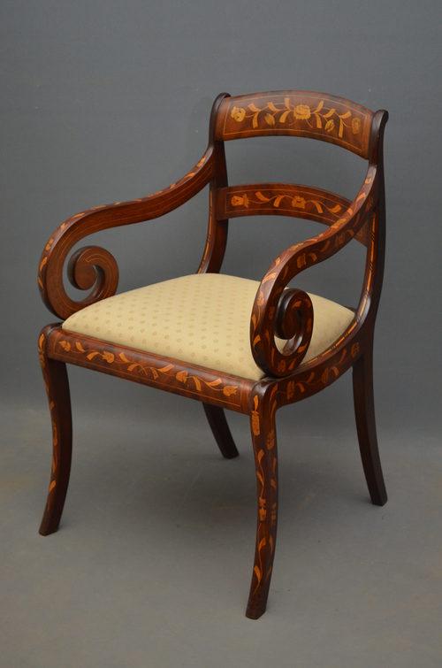 - Regency Carver Chair - Antiques Atlas