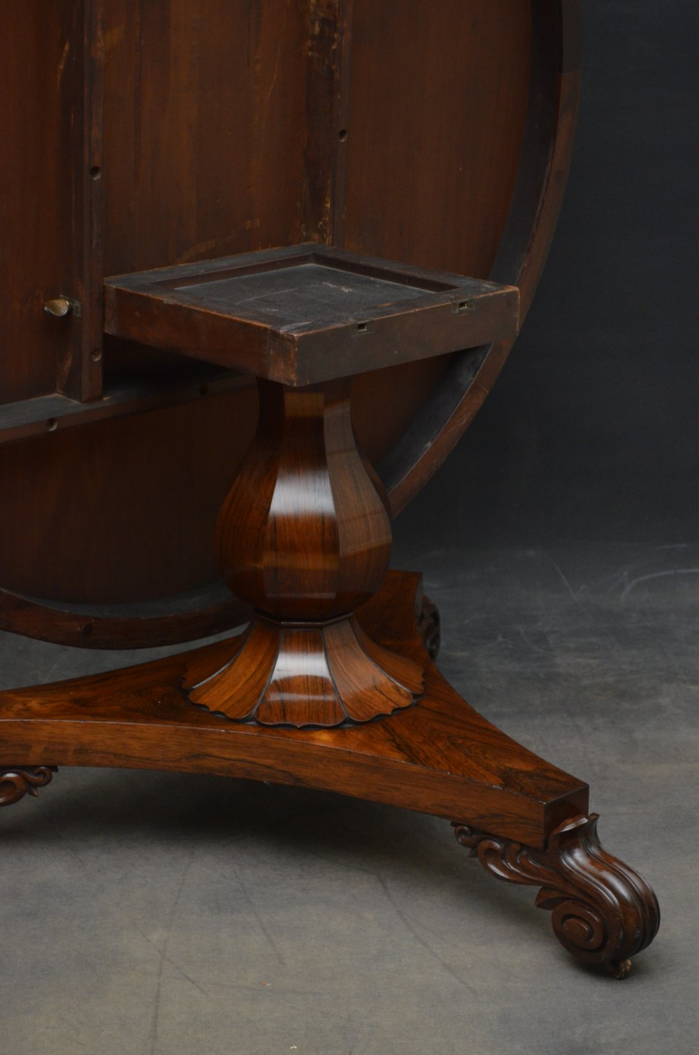 William IV Rosewood Dining Table Centre Table Antiques