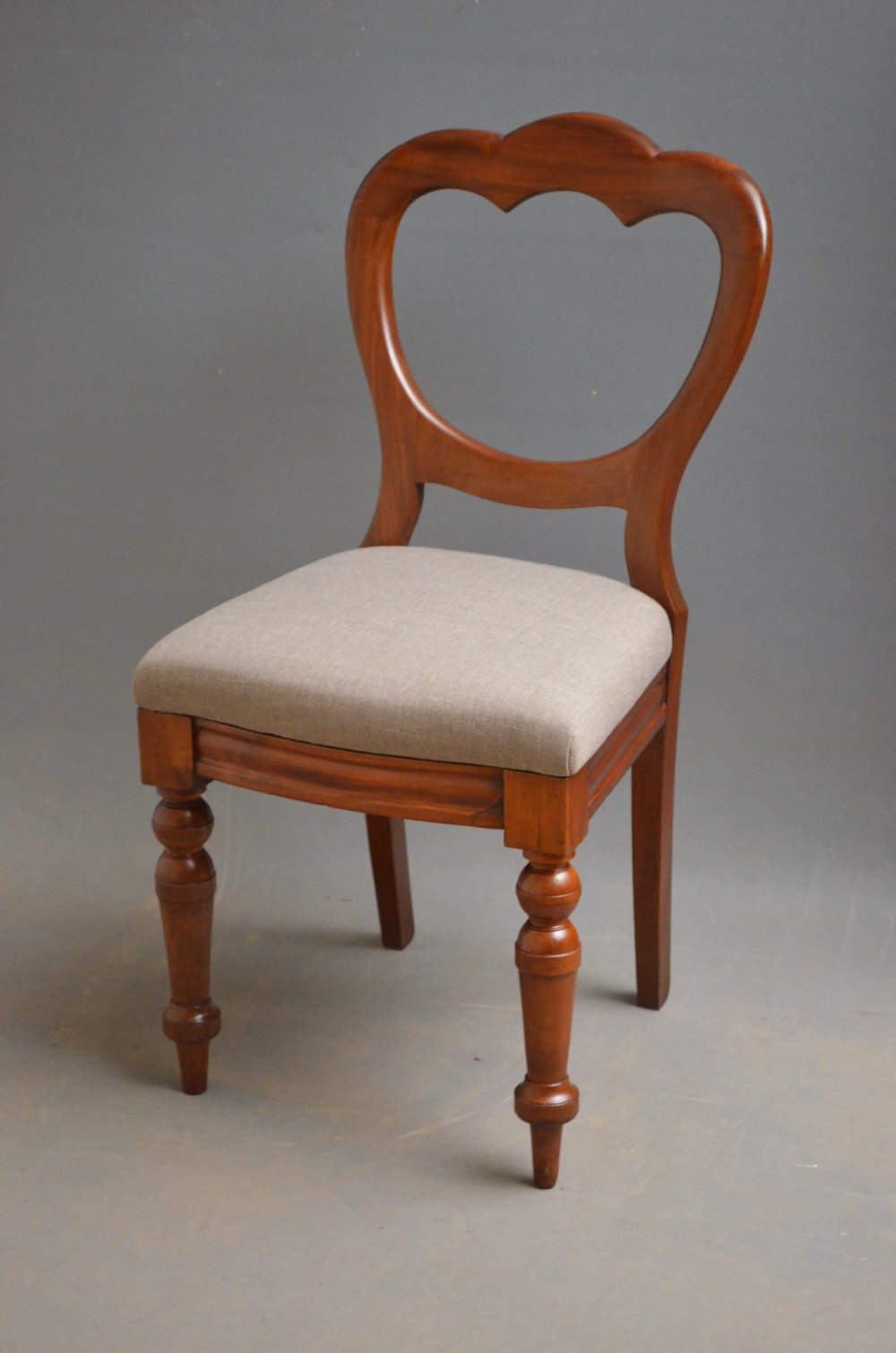Set Of 10 Victorian Mahogany Dining Chairs Antiques Atlas