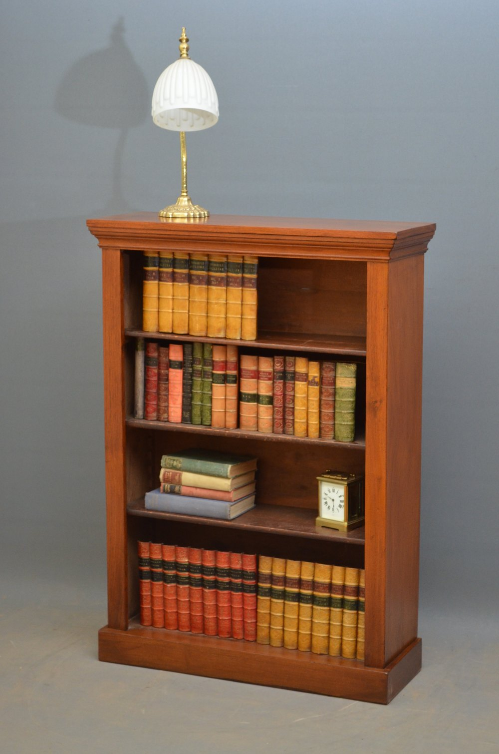 Small Victorian Open Bookcase In Walnut Antiques Atlas