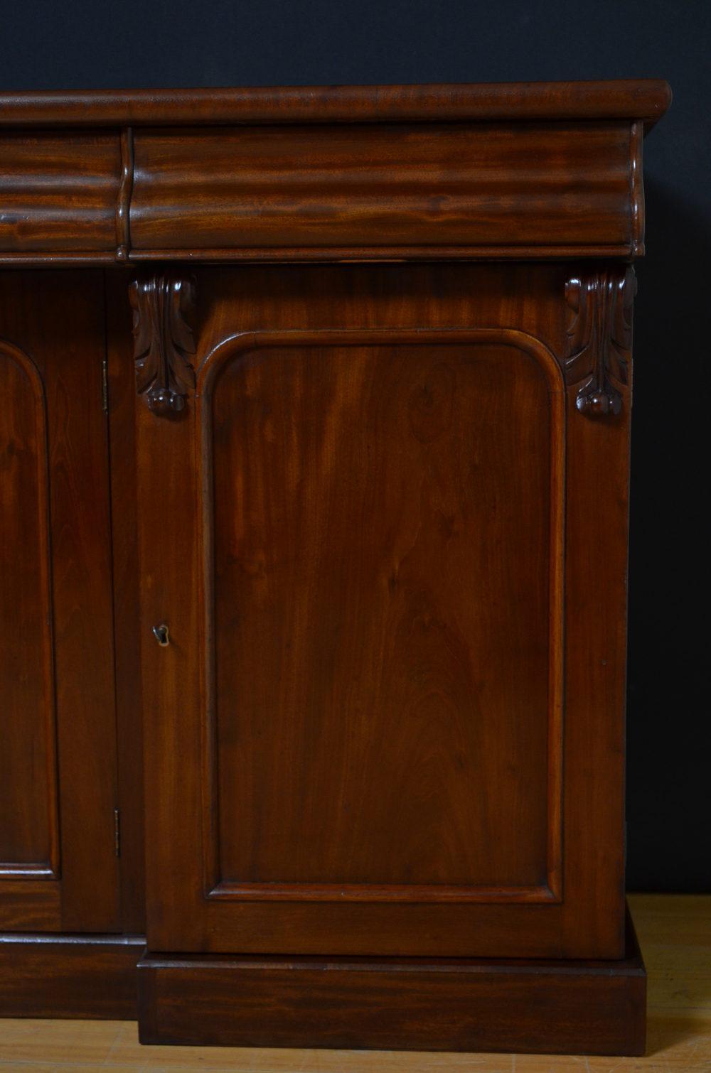 victorian mahogany sideboard antiques atlas. Black Bedroom Furniture Sets. Home Design Ideas