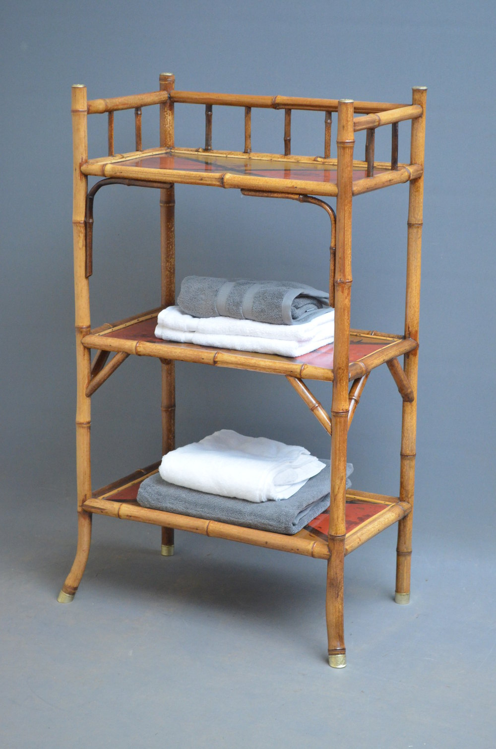 victorian bamboo stand etagere antiques atlas. Black Bedroom Furniture Sets. Home Design Ideas