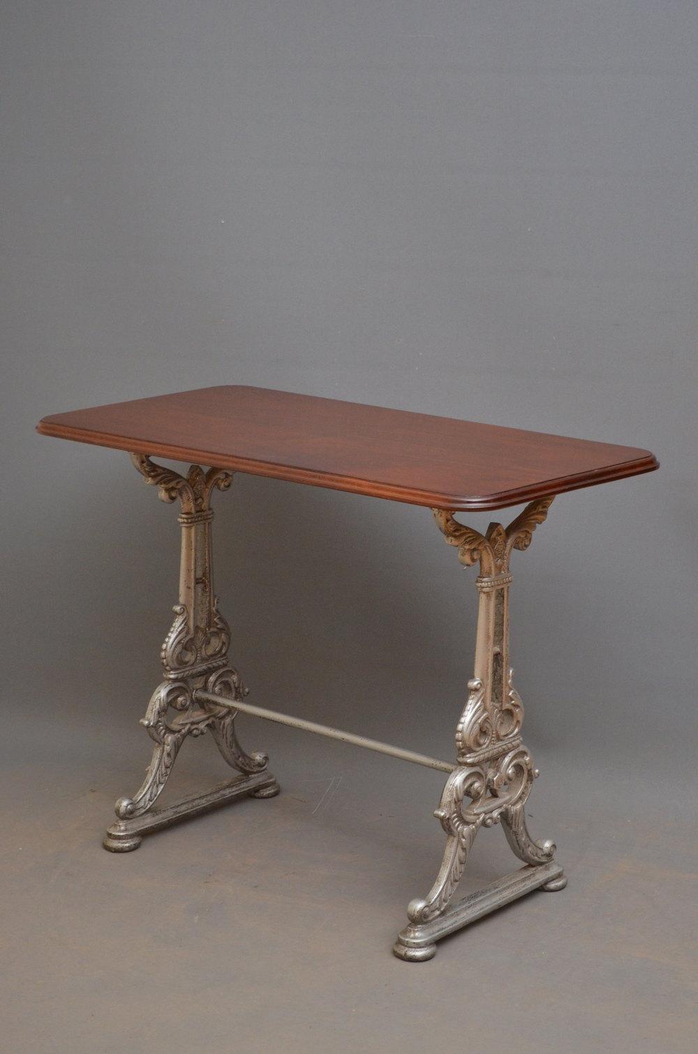 Victorian Cast Iron Pub Table Antiques Atlas