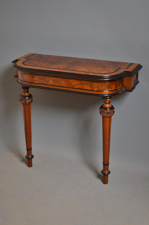 Victorian console table antiques atlas for Sofa table victorian