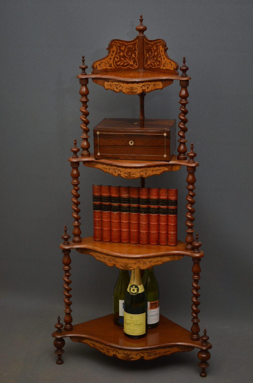 Victorian Corner Whatnot - Etagère - Antiques Atlas