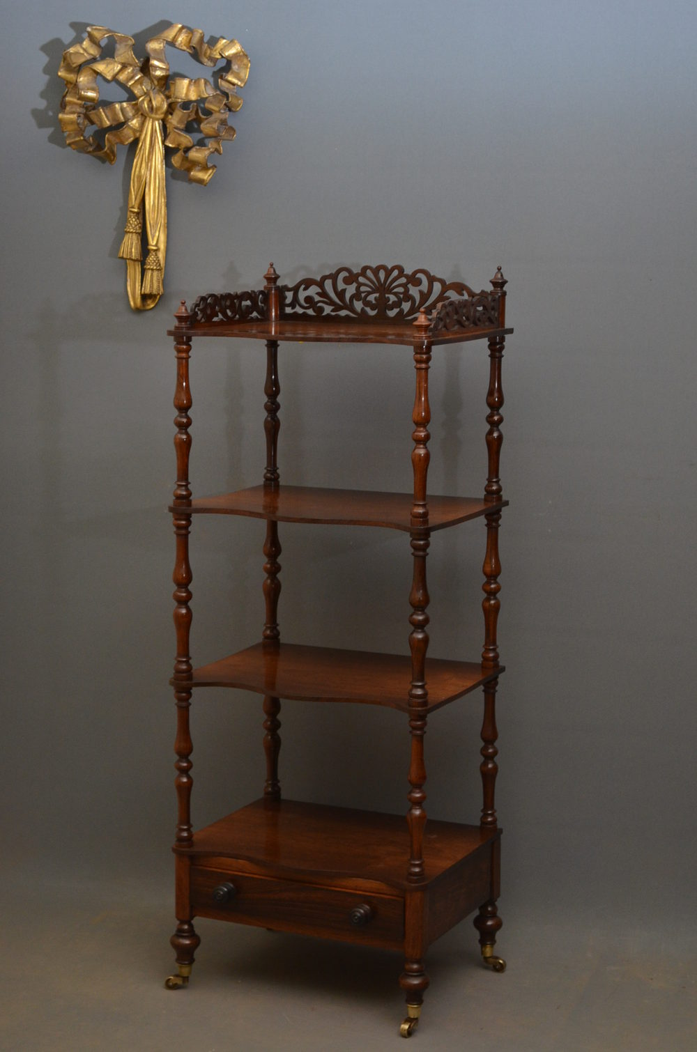 victorian etagere in rosewood antiques atlas. Black Bedroom Furniture Sets. Home Design Ideas