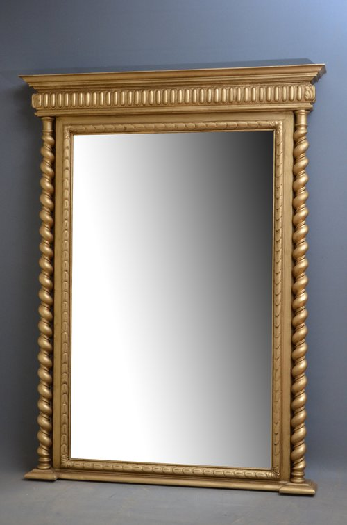 Antiques atlas victorian giltwood pier mirror gilt mirror for Victorian mirror