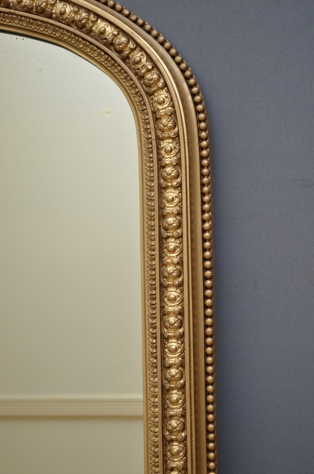 Antiques atlas victorian giltwood wall mirror gilt mirror for Victorian mirror