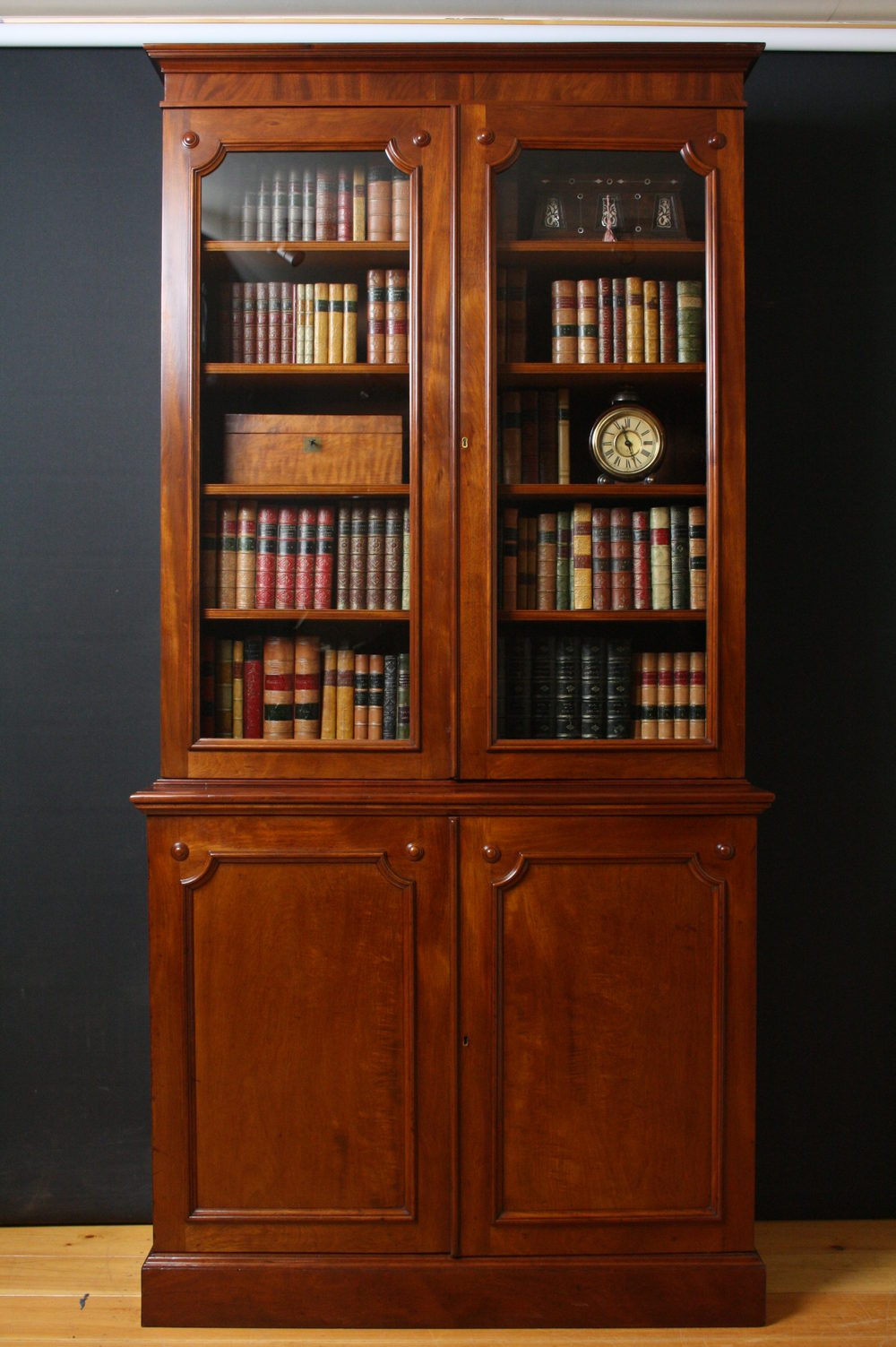Early Victorian Library Bookcase Antiques Atlas