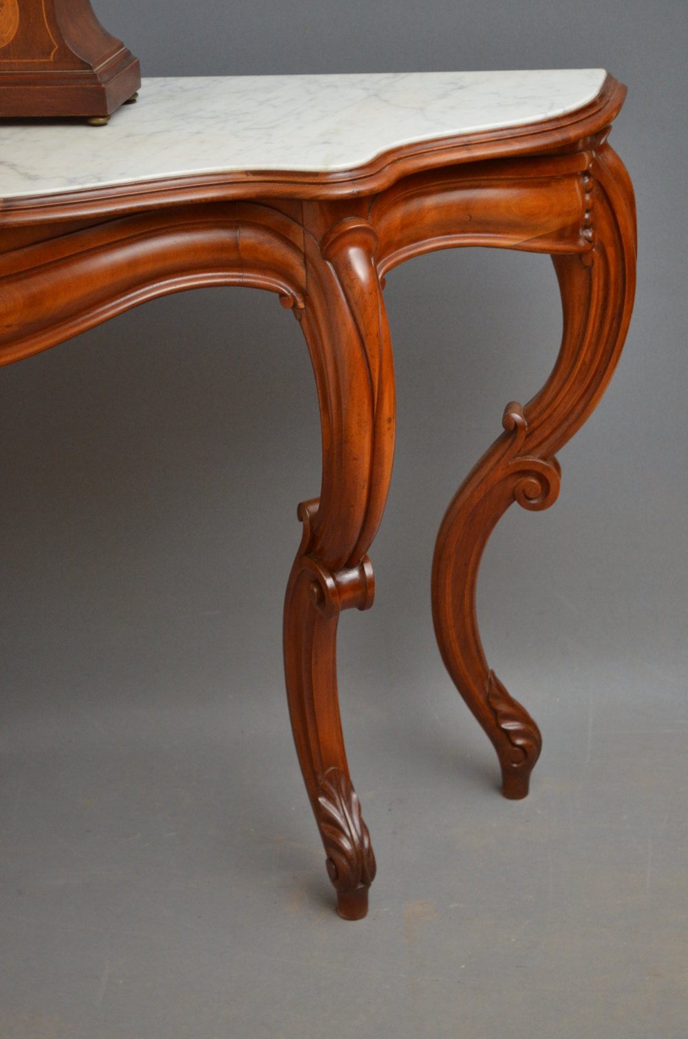Victorian Mahogany Console Table Hall Table Antiques Atlas