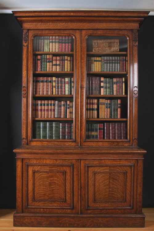 Victorian Oak Bookcase Antiques Atlas