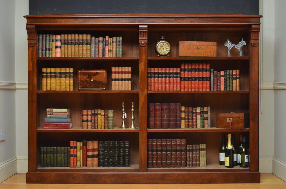 Victorian Open Bookcase Antiques Atlas