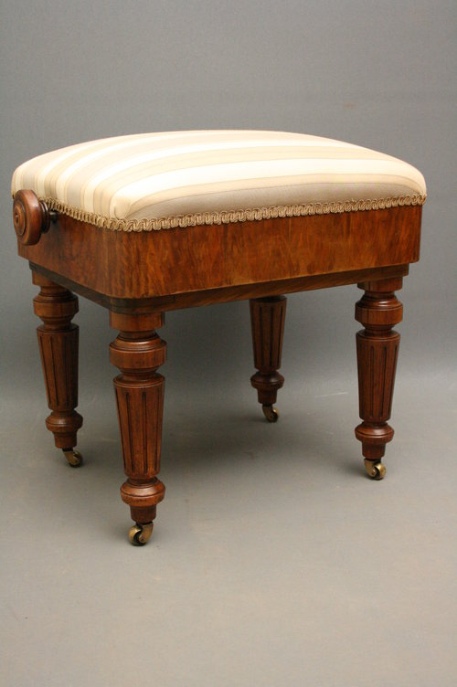 Victorian Piano Stool Antiques Atlas