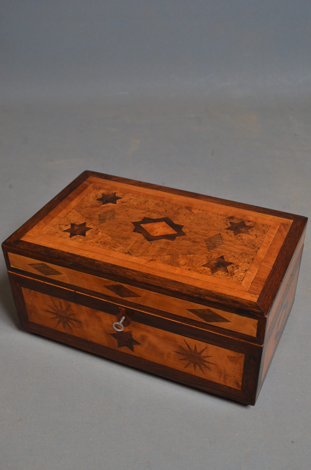 Antiques Atlas Victorian Sewing Box Jewellery Box