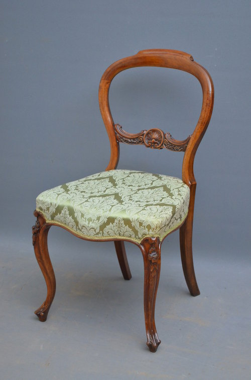 Victorian Walnut Occasional Chair In Walnut ...
