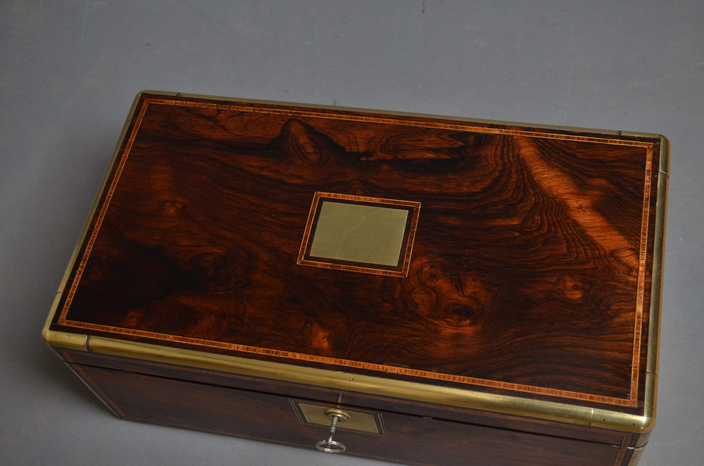 Antiques Atlas Victorian Writing Slope Rosewood
