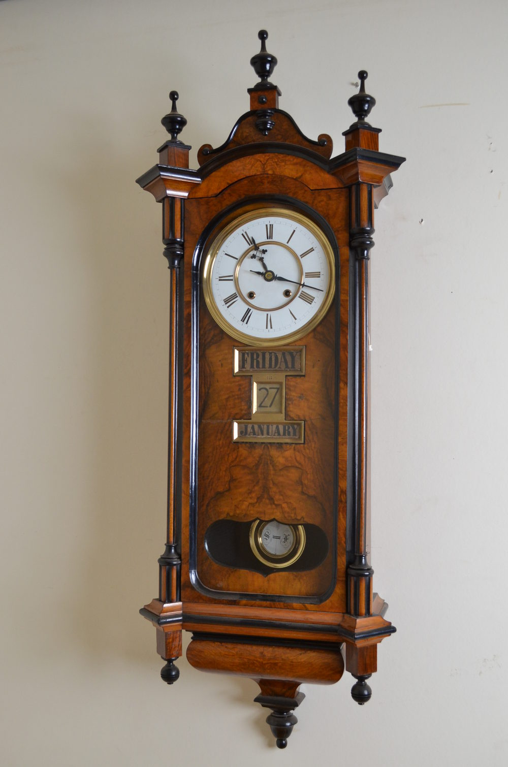Antiques Atlas Victorian Vienna Clock